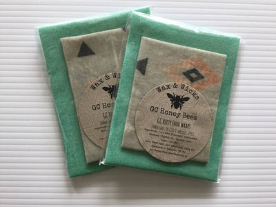 GC Beezy Beeswax Food Wraps- 2 pack