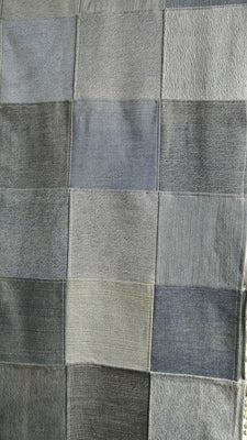 Denim Patch Blanket