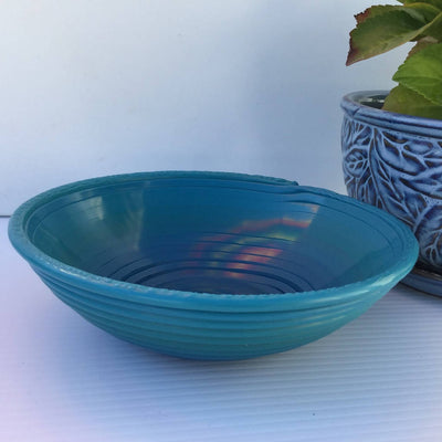 Recycled Plastic Decorative Coiled Bowls Medium