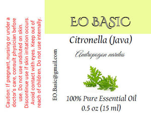 Citronella (java) Essential Oil
