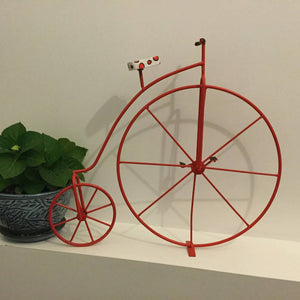 Penny-Farthing Bicycle Garden Decoration