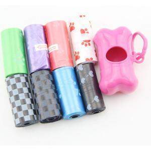 Pet Waste Bags Package & Dispenser - Petsagram