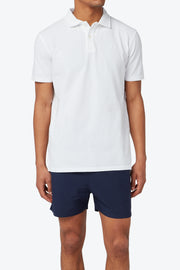 White Pensacola Polo Shirt