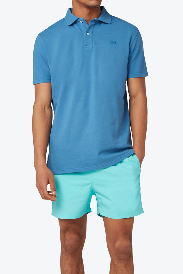 French Blue Pensacola Polo Shirt