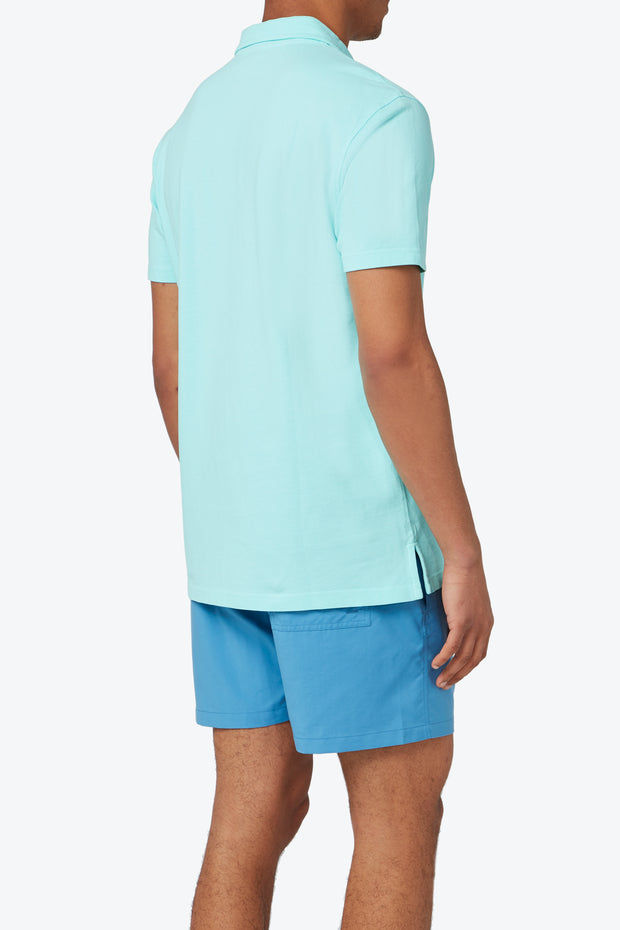 Cay Green Pensacola Polo Shirt