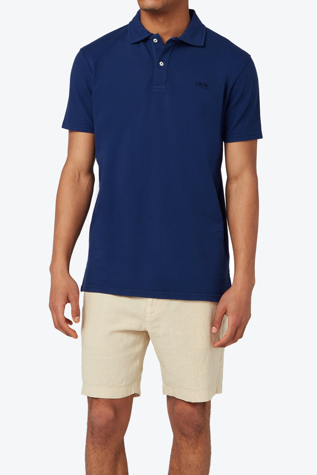 Navy Blue Pensacola Polo Shirt