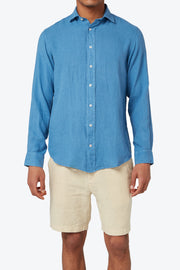 French Blue Abaco Linen Shirt