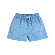 'Ray Writing' Staniel Swim Short | Boys