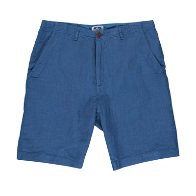 Chambray-Burrow-Mens-Linen-Shorts-Front