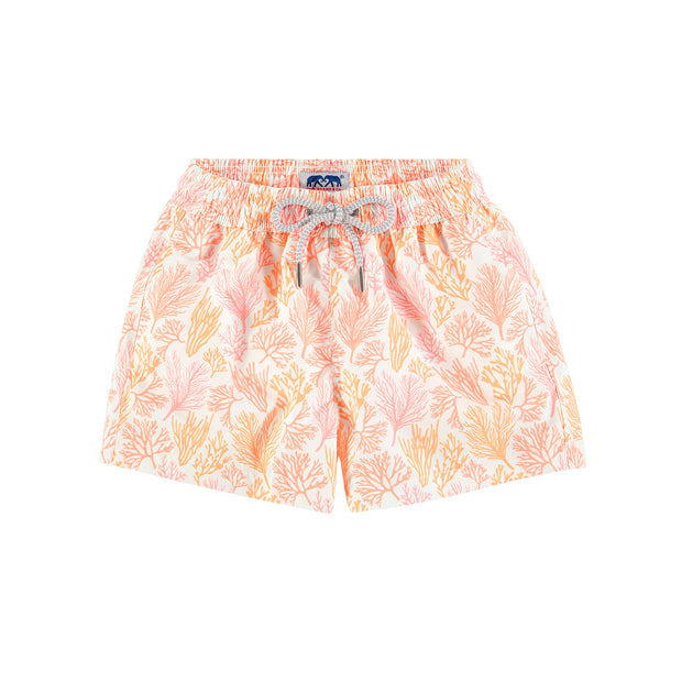 staniel-swim-short-kids-crazy-coral-orange-front