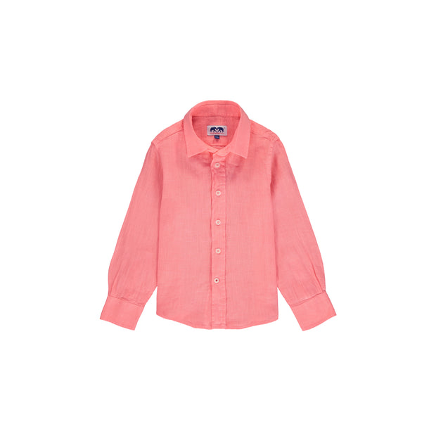 abaco-linen-shirt-watermelon-boys-front
