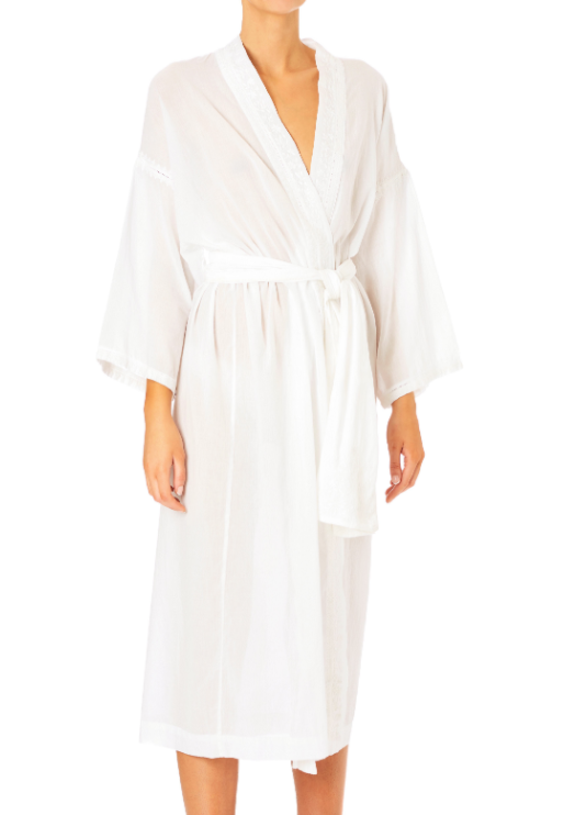 Arya Dressing Gown (White)