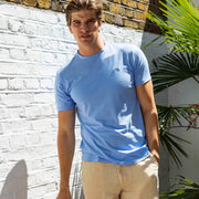 Ocean Blue Lockhart Cotton T Shirt Menswear