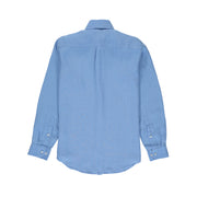 Mens-Linen-Shirt-Abaco-Ocean-Blue-Menswear-Back
