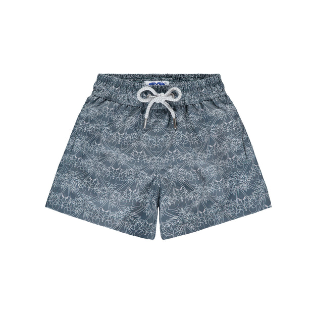 'Pathway to Paradise' Staniel Swim Short | Boys