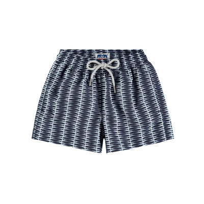 Kids-Swim-Shorts-Silly-Sardines-Front