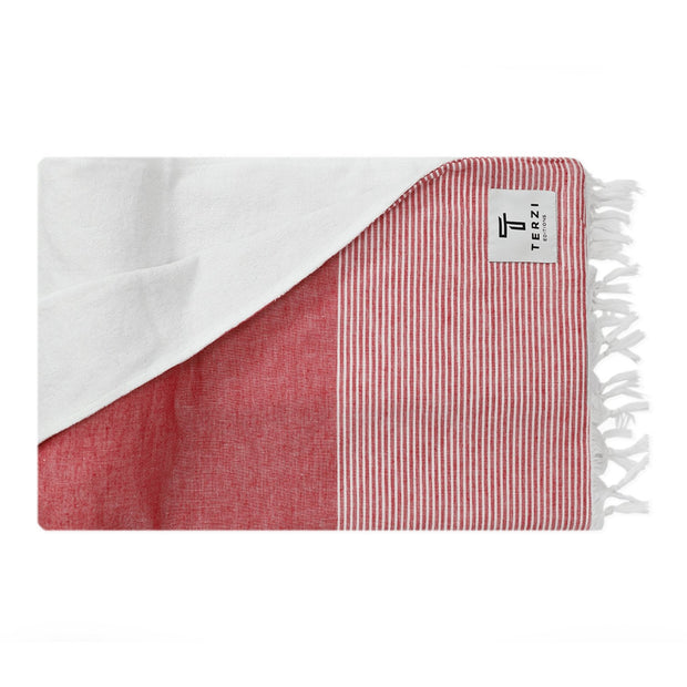 Terzi-Towel-Red-Sustainable-Ethical-Luxury-Bathroom