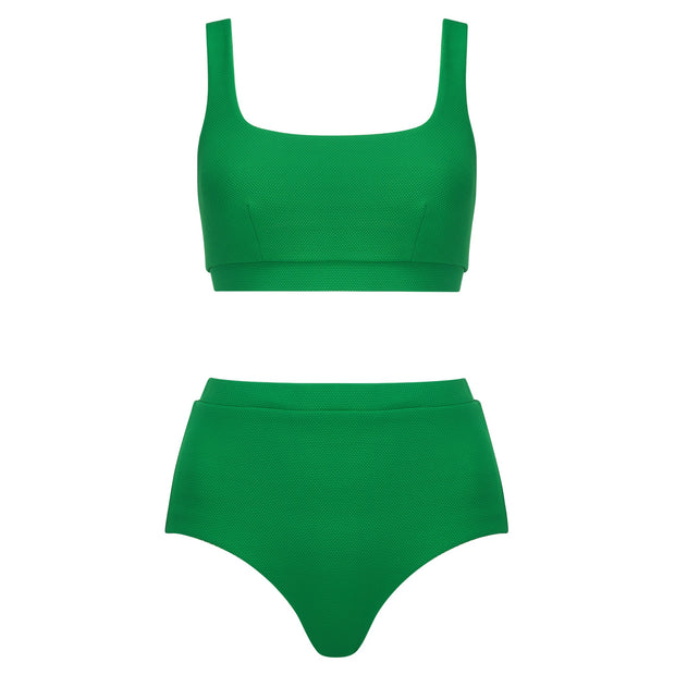 The Gemma Top - Bright Green