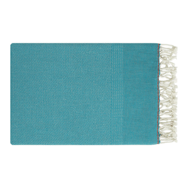 Terzi_Editions_Luxury_Beach_Towels_Turkish_Towels_Classic_Range_Turquoise_LOVEBRANDCLUB_Sustainable_Ethical1