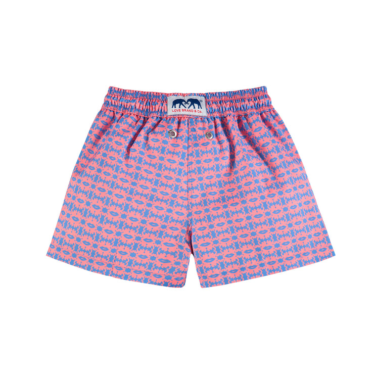 'Octopus Kiss' Staniel Swim Short | Boys