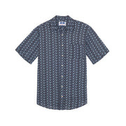 'Star Gazing' Manjack Linen Shirt