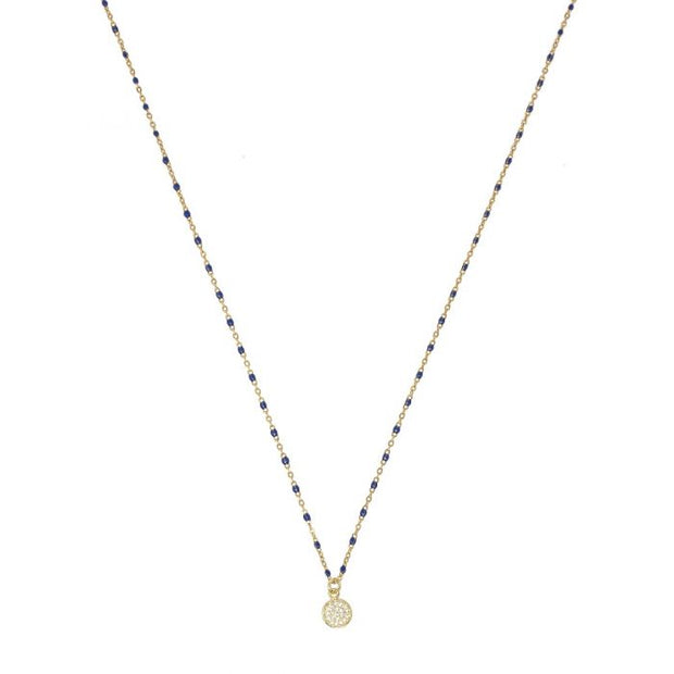 Selina Necklace - Blue