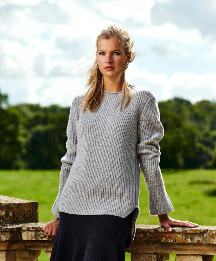 Chill Jumper - Grey Melange