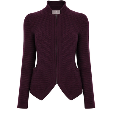 Nehru Jacket - Bordeaux