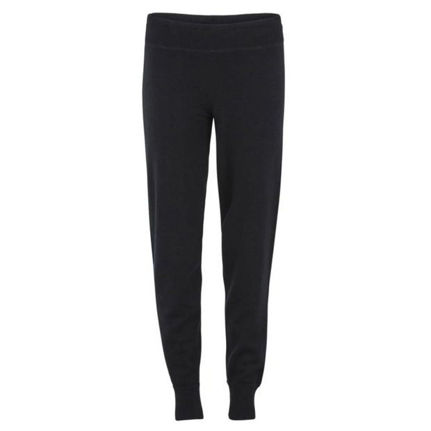 Cashmere Tracksuit Bottoms - Black