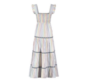 Lexy Dress - Rainbow Stripe