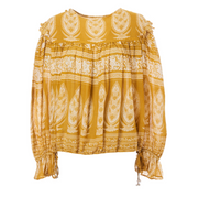 mabe-athena-print-top-mustard-yellow-ethical-small-quantities-clothing