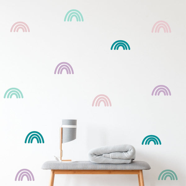 Rainbow wall decals - Studio Picco