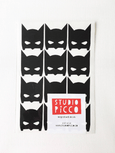 package of black batman wall stickers by studio picco