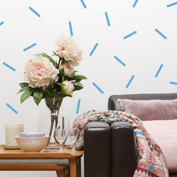 Sprinkle wall decals