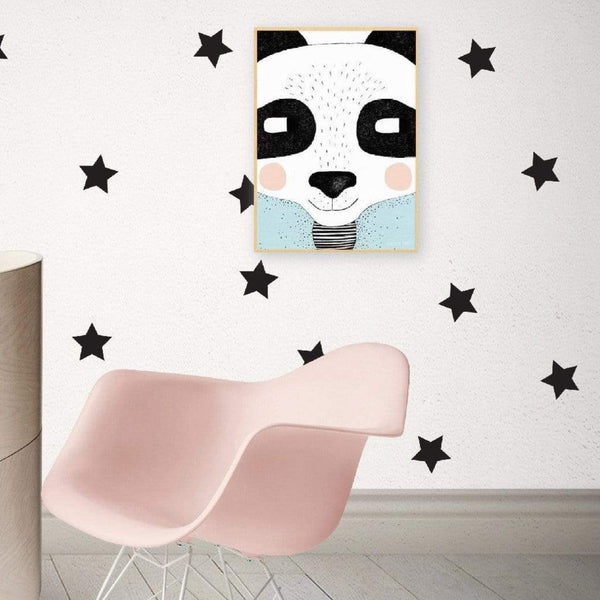 Classic stars wall stickers