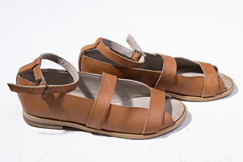 Punch Papaya Sandals
