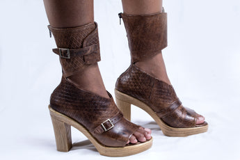 Nolwandle Wrap heel