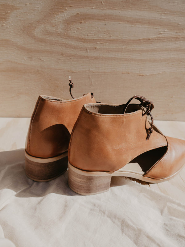 Chic Vintage leather shoes