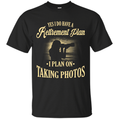 Retirement Plan - Photographer
