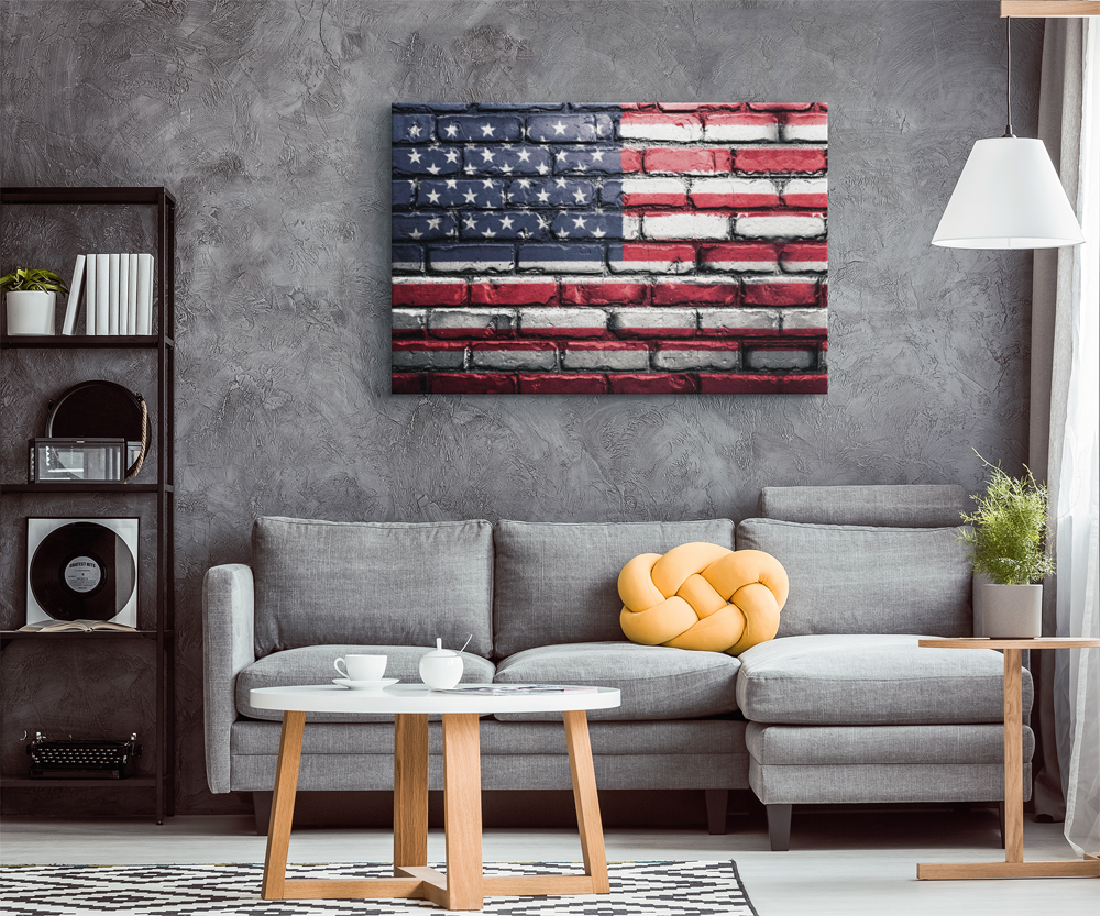 Wall of Remembrance - American Flag