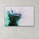 Original Cat Fine Art Print on Canvas