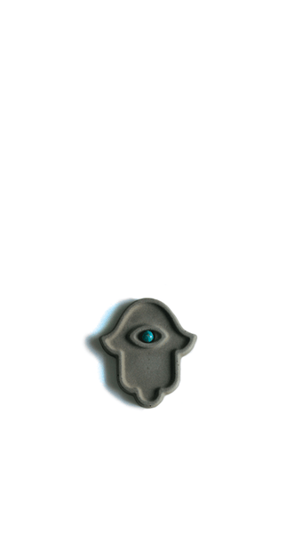 Miniature Hamsa With Eye
