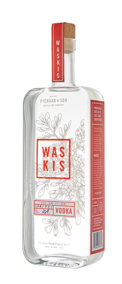 WASKIS Vodka - 750ml