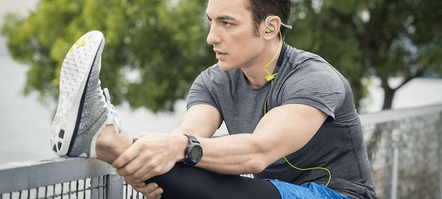 Philips SHQ4300WS/27 ActionFit Earbuds - Great value