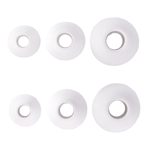 TREBLAB Ear-tips (Silicon set) White