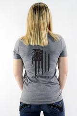 Women's Betsy Ross V Neck T-Shirt