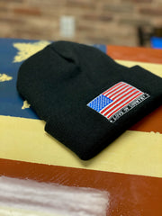 U.S.A. Made Knit Ski Hat