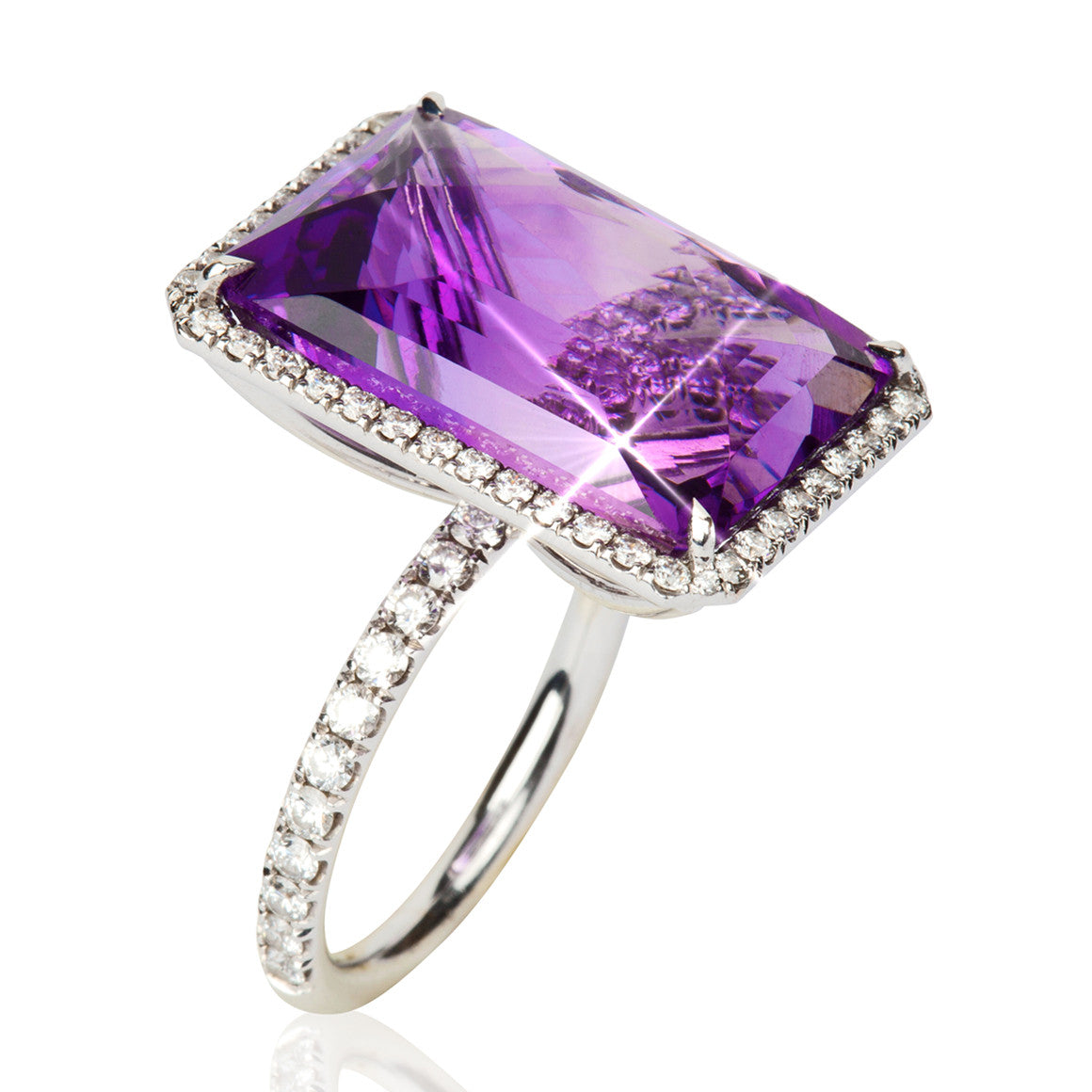 zoom tw purple gold ct ring white mv kaystore zm hover to kay rings round cut diamond engagement en