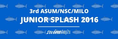 FINAL RESULTS | 3rd ASUM/NSC/MILO Junior Splash 2016