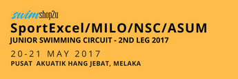 INVITATION | SportExcel/MILO/NSC/ASUM JUNIOR SWIMMING CIRCUIT - 2ND LEG 2017